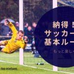 もっとサッカー観戦を楽しくこれで納得!サッカーの基本ルール-ブログ.web de 雑貨帳